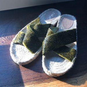 Shoes - NWOT Miss Albright, Anthropologie sandals